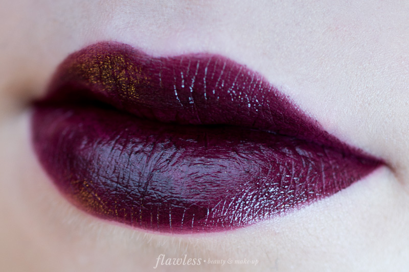Sleek True Colour Lipstick Mulberry Swatch