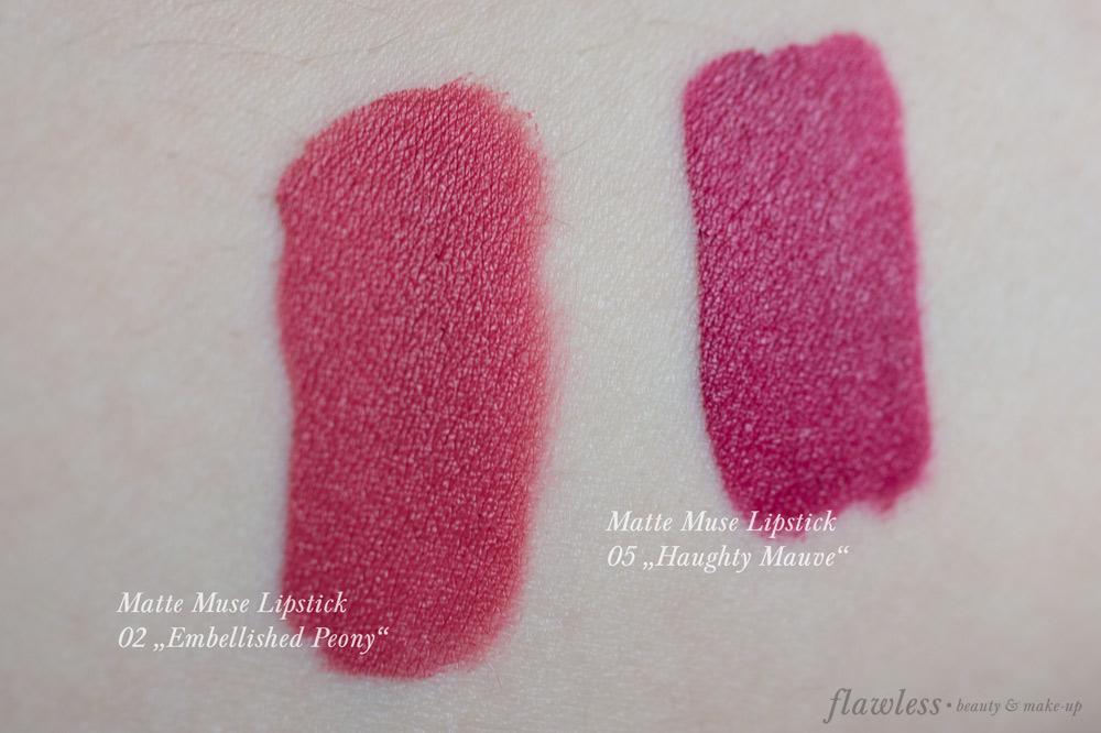 Kiko Matte Muse Lipstick Swatch